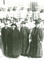 P. Semeria, P. Minozzi e Mons. Quadrini - agosto 1918.