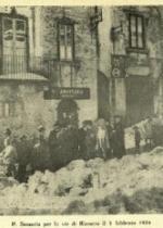Semeria per le vie di Rionero - 1924