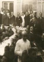 P. Semeria e Don Minozzi durnte un pranzo offerto agli orfani di guerra