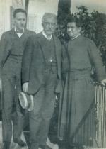 P. Semeria con Fogazzaro e Gallarati Scotti.