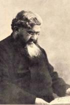 Ritratto del Padre Semeria che legge un libro