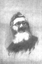 Ritratto del Padre Semeria: Gambi (punta secca)