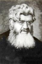 Foto del Padre Semeria su cartolina postale