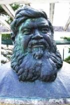 Busto di bronzo del P. Semeria - Istituto di Ofena (AQ)