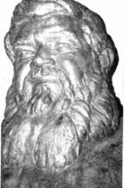 A Monteleone: Padre Giovanni Semeria servo degli Orfani (Bronzo) particolare.