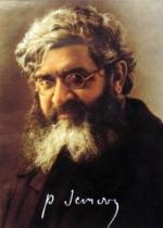 Ritratto del P. Semeria con firma autografa.