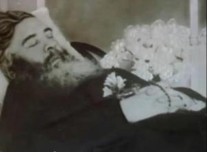 Sul letto di morte