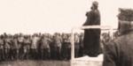 P. Semeria parla ai soldati al fronte