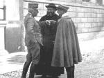Semeria con il Generale Cadorna e Gabriele D'Annunzio.