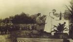 P. Semeria celebra una messa al campo.