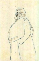 Cartolina con caricatura del P. Semeria