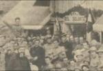 P. Semeria e P. Minozzi dinanzi alle Case del soldato.