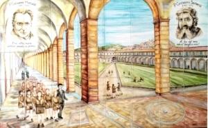 P. Semeria e P. Minozzi tra gli Orfani di guerra nella Certoda di Padula
