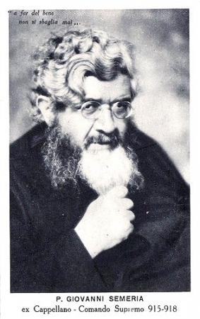 Cartolina con P. Giovanni Semeria