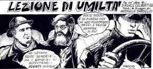 P. Semeria nei fumetti