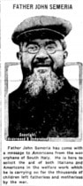 "P. Semeria, in copertina, su ""The Journal"", Logan, Utah"