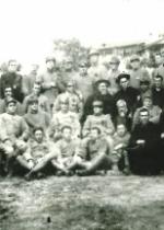 P. Semeria e P. Minozzi tra i soldati.