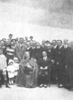 """Il Card. Lualdi inaugura l'Asilo """"Puricelli"""" di Palermo - 10 maggio 1925"""