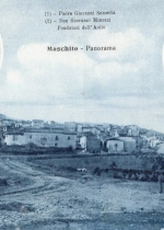 Cartolina che ricorda la fondazione dell'asilo infantile di Moschito (PZ)