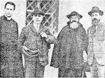 """P. Semeria con P. Minozzi e due amici dell'Opera""""."""