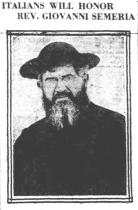 "P. Semeria su ""Knickerbocker Press"", Albany, New York"