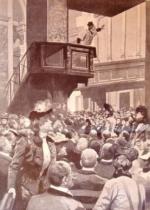 P. Semeria predica nella Chiesa di S Marco a Milano (1901).