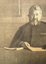 Le Père Semeria, aumônier général de l'armée italienne, qui vient de faire une conférence à Paris
