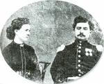 Il padre Giovanni e la madre Carolina Bernardi.