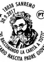 Annullo 150° Anniversario della nascita di P. Semeria