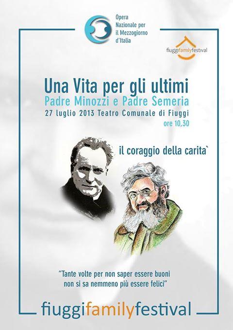 """""""La Famiglia nel pensiero di P. Giovanni Minozzi e P. Giovanni Semeria"""""""