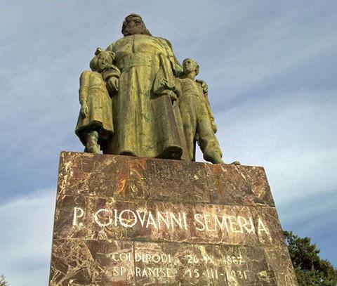 Monumento al P. Semeria - Coldirodi (IM)