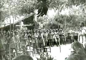 Discorso del P. Semeria dopo la S. Messa del Soldato al Campo