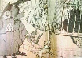 P. Semeria costretto all'esilio