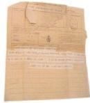 Telegramma di G. D'Annunzio