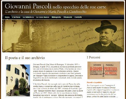 In rete le lettere del Semeria conservate nell'Archivio Pascoliano
