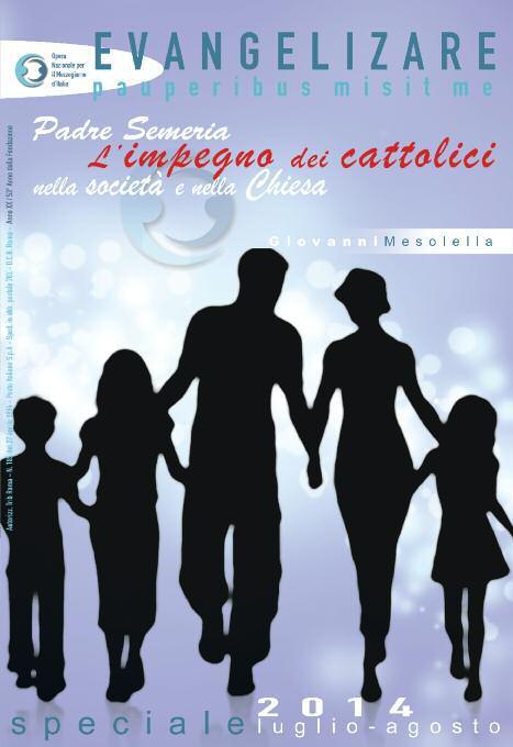 """""""P. Semeria. L'impegno dei cristiani nella società e nella Chiesa"""""""