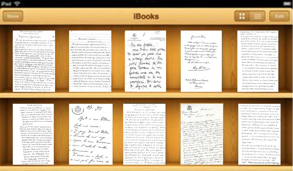 L'Archivio dei Manoscritti inediti