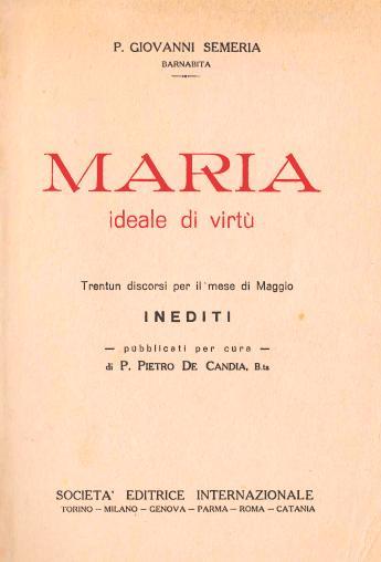 Maria ideale di virtù (1934)