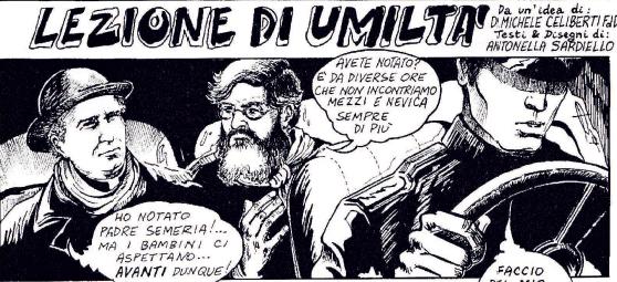 P. Semeria in caricature, vignette e fumetti
