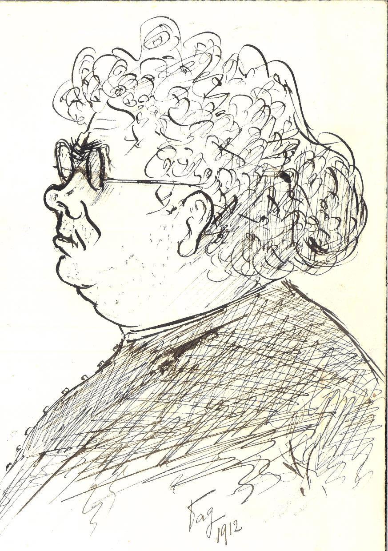 Caricatura del P. Semeria (1912)