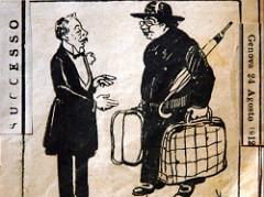Semeria parte per l'esilio (1912)