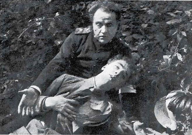 Fotogramma del film muto da Il mio diario di guerra